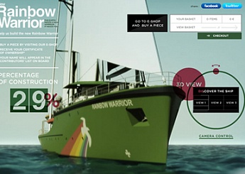 Построим новый Rainbow Warrior вместе!